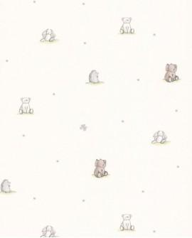 Papier peint enfant Lutèce Tartine & Chocolat Copains 36131009
