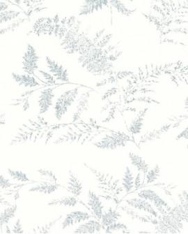 Papier peint enfant Lutèce Tartine & Chocolat Fougère Bleu 36200501