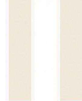 Papier peint Lutèce Jeux de rayures 2 Crème et blanc G67547