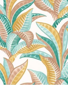 Papier peint exotique Caselio Sea You Soon Vitamin Sea Multicolore SYO102767689