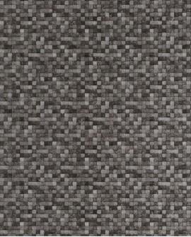 Papier peint Lutèce Sauvage Mosaïque Anthracite G67422