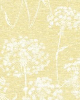 Papier peint floral Lutece Pissenlit Jaune FD24625