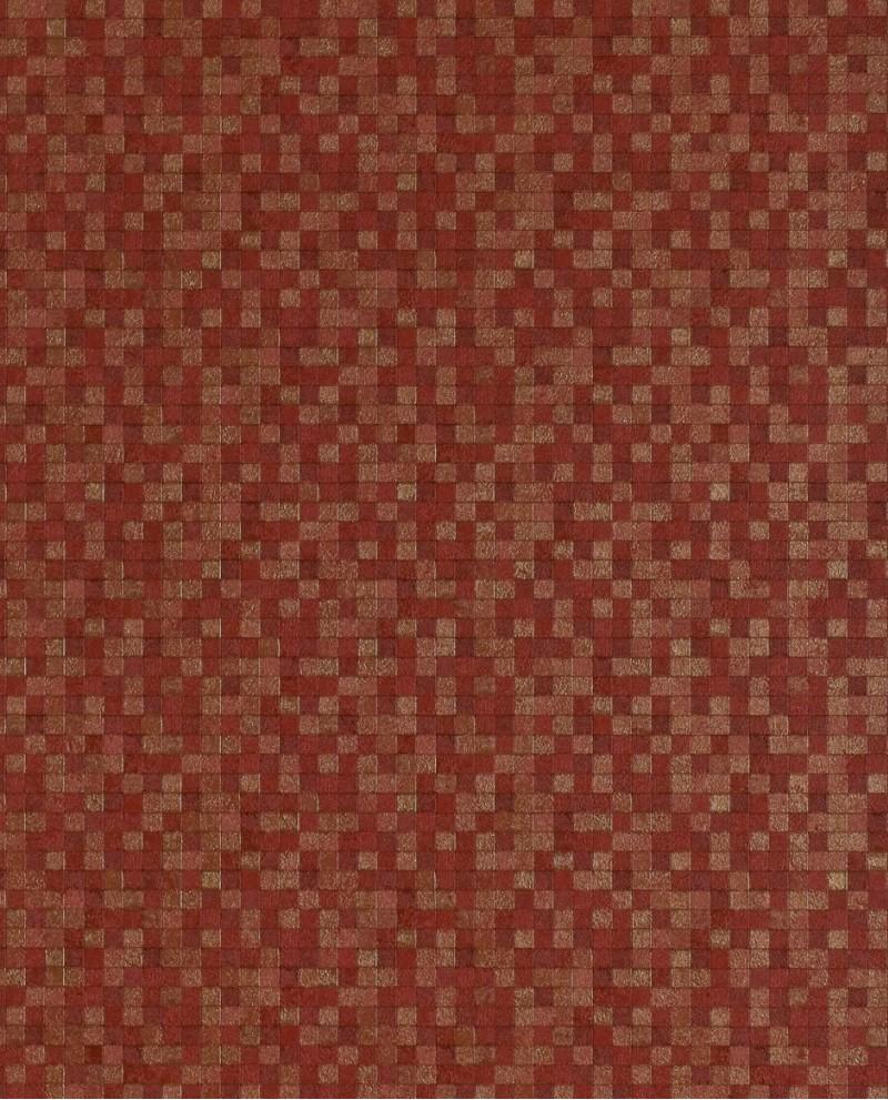 Papier peint lut ce sauvage mosa que rouge g67424 - Papier peint mosaique ...