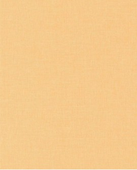 Papier peint Caselio Linen 2 Orange 68523115