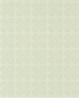 Papier peint géométrique Botanica Casadeco Hortus Amande BOTA85937204