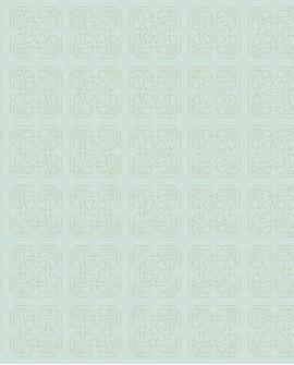 Papier peint géométrique Botanica Casadeco Hortus Bleu BOTA85936139