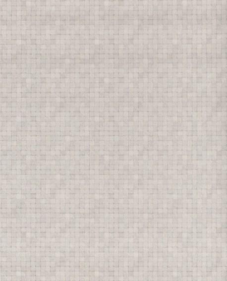 Papier Peint Lutece Sauvage Mosaique Gris G67421