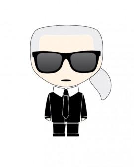 Panoramique Montecollino Karl Lagerfeld «Icon Karl With» DD120250
