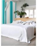 Papier peint Esta Home effet dip-dye turquoise 148607
