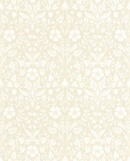 Papier peint floral Arts & Crafts Casadeco Archibald Beige ARCR86331004