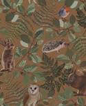 Papier peint enfant collection Forest Friends Animaux de la forêt Camel 139251