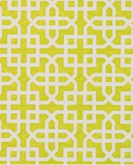 Papier peint Clarke & Clarke Monserrat Citron W0084/01