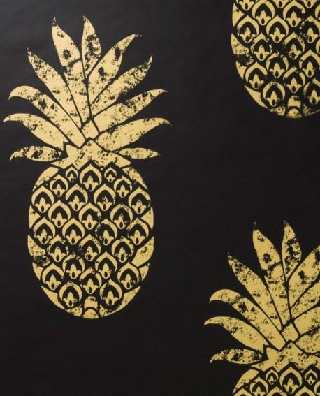 Papier peint Clarke & Clarke Tobago Ebony W0086/01