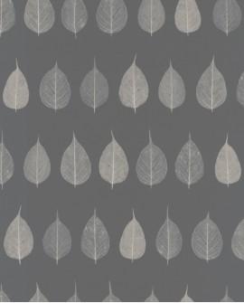 Papier peint Rasch Greenhouse Feuillage gris 128849
