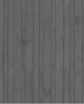 Papier peint Rasch Greenhouse Planches vintage Anthracite 128841