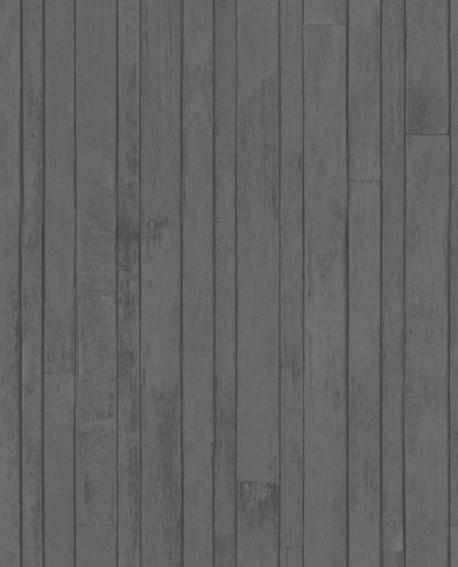 papier peint intiss cologique planches noir greenhouse 128841. Black Bedroom Furniture Sets. Home Design Ideas