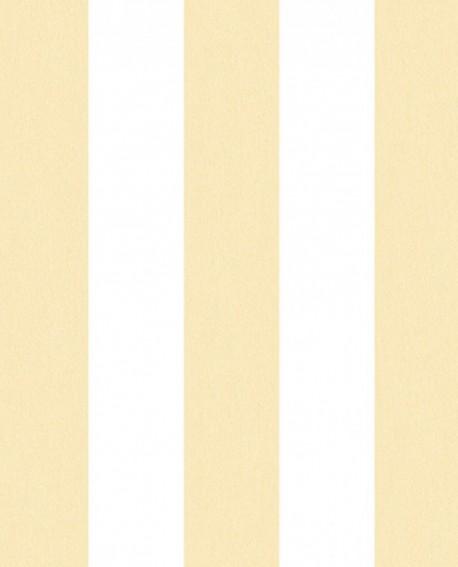 Papier Peint Lutece Jeux De Rayures 2 Rayure Jaune Et Blanc G67587