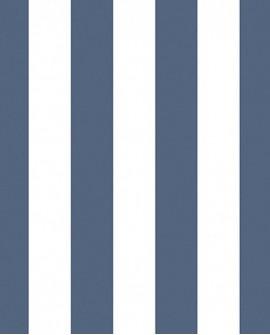 Papier peint Lutèce Jeux de Rayures 2 Rayure Bleu G67522
