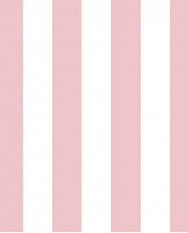 Papier peint Lutèce Jeux de Rayures 2 Rayure Rose G67524
